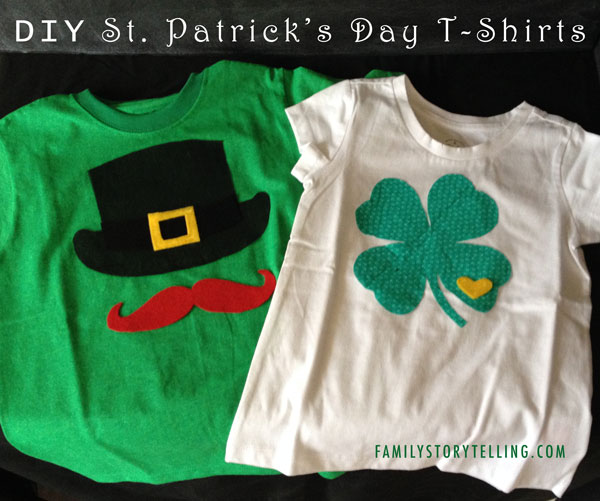 Family Storytelling, St. Patrick's Day, T-shirts