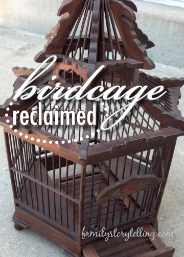 Family Storytelling, DIY, Birdcage, Directions, Craft