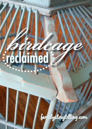 Family Storytelling, DIY, Birdcage, Directions