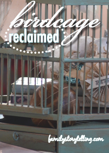 Family Storytelling, DIY, Birdcage, Craft Directions