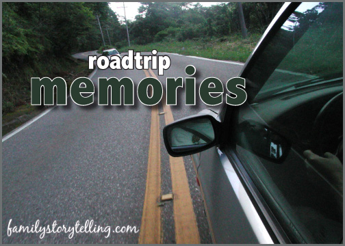 family storytelling road trip with kids cross country