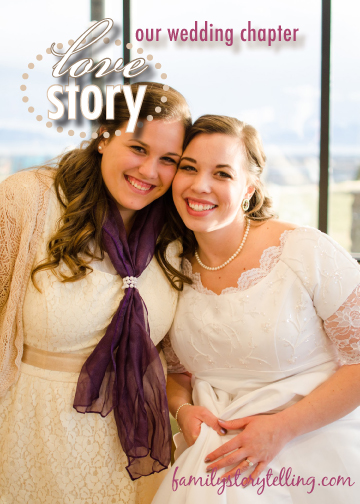 Family Storytelling, Wedding Day, Sisters Picture
