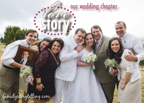 Family Storytelling, Wedding Day, Family Picture