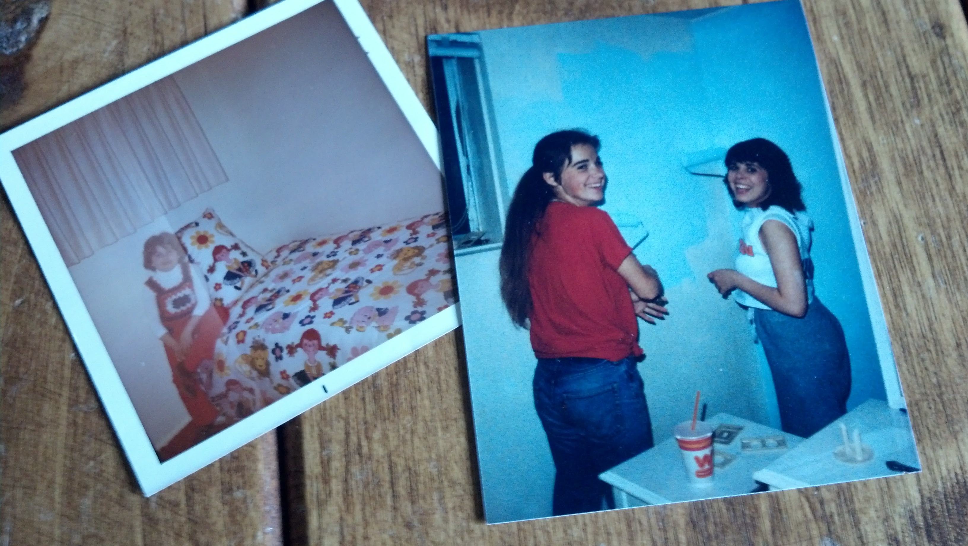 Family Storytelling, DIY Bedroom Makeover, Wallpaper stripping
