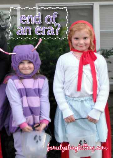 Family Storytelling, Halloween Traditions, Trick or Treating