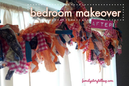 Family Storytelling, DIY Bedroom Makeover, Teen Girl