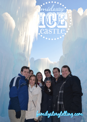 Family Storytelling, Ice Castle, Family Visit, Holiday Trip