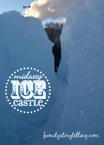 Family Storytelling, Ice Castles, Various Angles