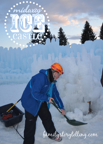Family Storytelling, Ice Castle, Repair