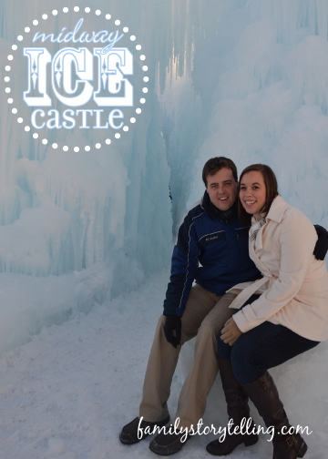 Family Storytelling, Ice Castle, Exploring