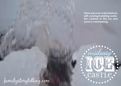 Family Storytelling, Ice Castle, Explore