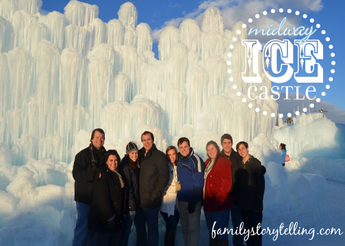 Family Storytelling, Ice Castle, Family Gathering