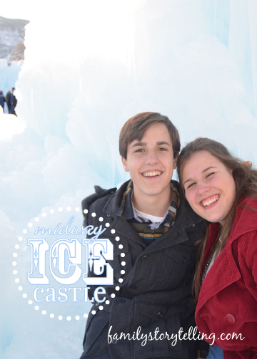 Family Storytelling, Ice Castle, Family Time