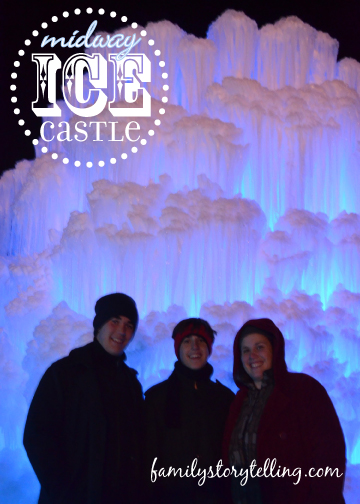 Family Storytelling, Ice Castle, Family Togetherness