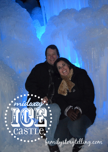 Family Storytelling, Ice Castle, Romantic Getaway