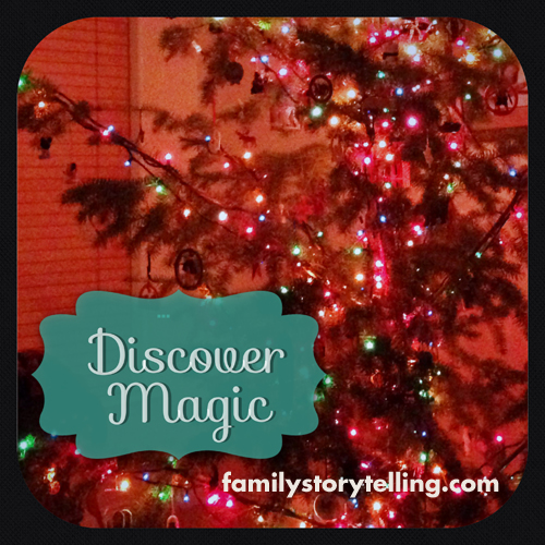 Family Storytelling, Christmas Tree, Discover Magic