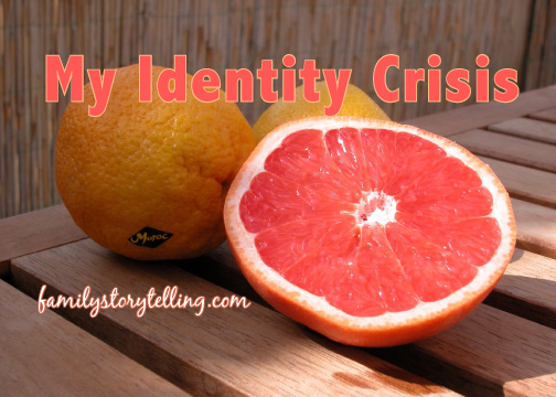 Cut Grapefruit family history life stories