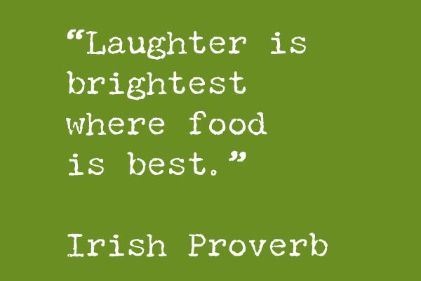 Family Storytelling, Irish Proverb, St. Patrick's Day