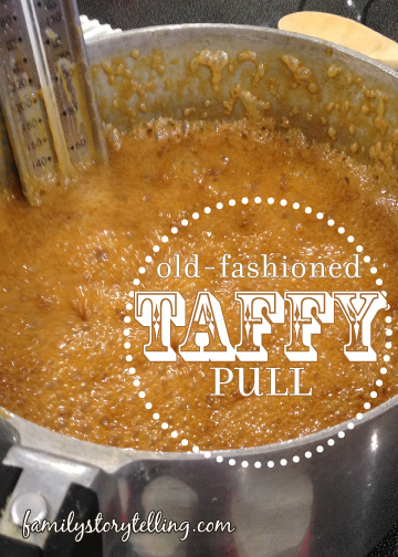 Family Storytelling, Honey Taffy Recipe, Boiling Mixture